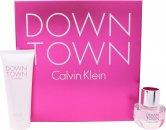Calvin Klein Downtown Gift Set 30ml EDP + 100ml Shower Gel