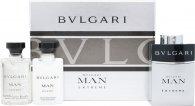 Bvlgari Man Extreme Gift Set 3 x 15ml EDT Refillable Spray