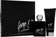 George Best Silver Edition Gift Set 100ml EDT Spray + 100ml Hair & Body Wash