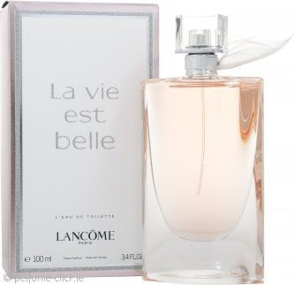 lancome la vie est belle eau de toilette 100ml spray. Black Bedroom Furniture Sets. Home Design Ideas