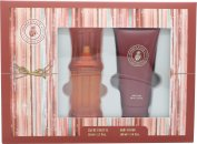 Caribbean Joe For Her by Caribbean Joe Gift Set 50ml EDT + 100ml Body Lotion