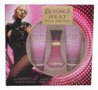 Beyonce Heat Wild Orchid Gift Set 30ml EDP + 75ml Body Lotion + 75ml Shower Gel