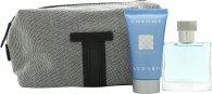 Azzaro Chrome Gift Set 30ml EDT + 50ml Shower Gel + Bag