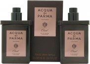 Acqua di Parma Oud Gift Set 2x 30ml EDC Travel Refill