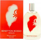 Benetton Rosso Woman Eau de Toilette 100ml Spray